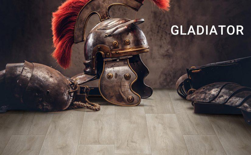 Новая коллекция бытового линолеума GLADIATOR – победа без компромиссов